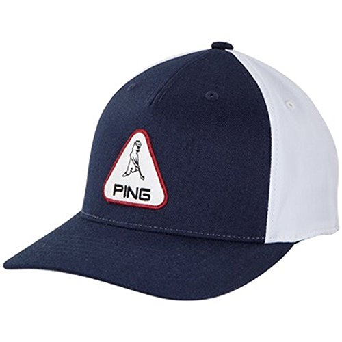 Ping 2018 Mrパッチ調節可能な帽子/ cap- Navy