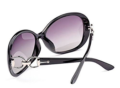 INVOGUE Luxury Women Polarized Sunglasses Retro Eyewear Oversized Goggles Eyeglasses by INVOGUE (Image #3)
