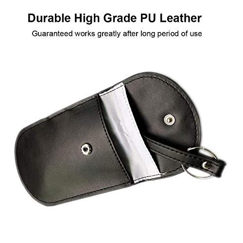 Faraday Bag Key Fob RFID Key Guard Anti-Theft Pouch for WiFi//GSM//LTE//NFC//RF Blocked Colisivan Faraday Pouch Key Signal Blocker Fob Protector