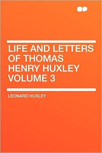 Livres gratuits télécharger le fichier pdfLife and Letters of Thomas Henry Huxley Volume 3 en français PDF ePub MOBI