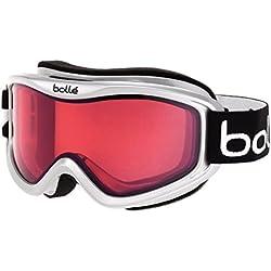 Bolle Goggles para Ski, Blanco y Bermellón