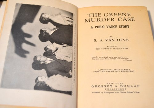 5 Volume Set Murder Case - 1st Editions: The Canary Murder Case, The Greene Murder Case, The Bishop Murder Case, The Benson Murder Case & The Garden Murder Case (Murder Case)