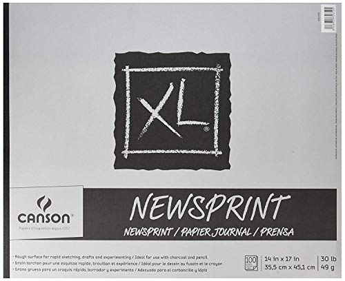 Canson XL Newsprint Pads 1 pcs SKU# 1849484MA