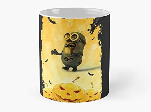 halloween minion Mug, Standard Mug Handmade Coffee Tea Mug - Unique Gifting -