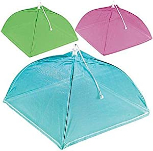 Amscan Summer Brights Party Food Covers, 12