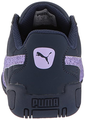 PUMA Girls' Tune Cat 3 Glam Sneaker, Peacoat-Purple Rose, 3.5 M US Big Kid by PUMA (Image #2)