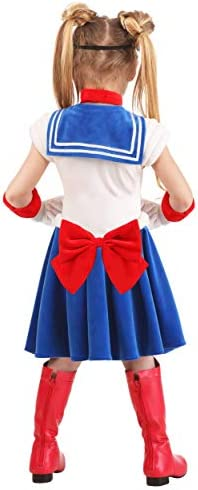 Child Kids Toddler Girls Sailor Moon Costume SIZE 4T with defect