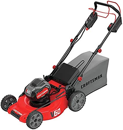 Amazon.com: Craftsman V60 - Cortacésped eléctrico sin cable ...