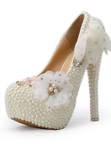 GGX/ Damen-Hochzeitsschuhe-Absätze-High Heels-Hochzeit / Kleid / Party & Festivität-Beige 5in & over-us5 / eu35 / uk3 / cn34