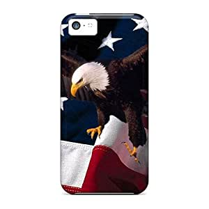 Excellent Iphone 5c Case Tpu Cover Back Skin Protector Eagle