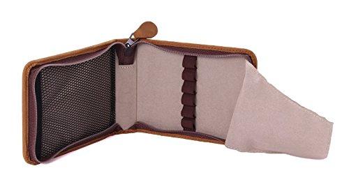 Kaweco Travel Etui for 6 pens, Vintage genuine Leather, brown by Kaweco (Image #2)