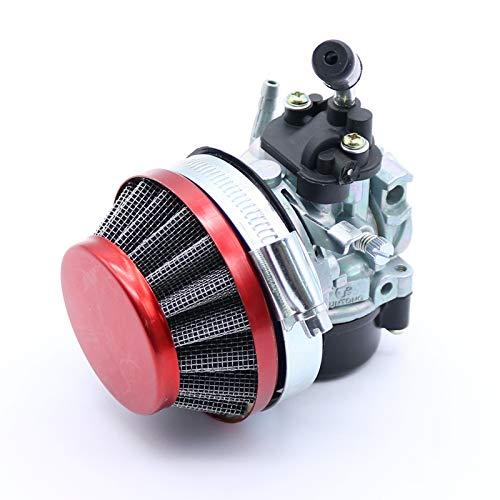 VIGAN Racing Carburetor Carb Air Filter Jets Assy 50cc - 80cc 2 Stroke Motorized Bike