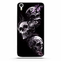Huawei Y6 Case,Honor 4A Case,Gift_Source [Ultra-Slim] Colorful Cute Impact Resistant Bumper Cover Flexible Soft TPU Rubber Silicone Protective Case For Huawei Y6/Honor 4A [Skull]