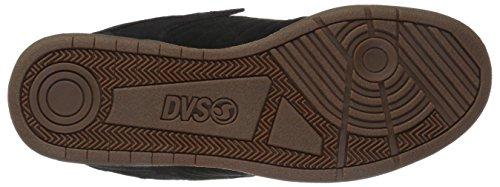 DVS Shoes Celsius, Scarpe da Skateboard da Uomo Nero (Black Leather)