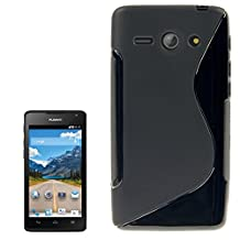 Phone protection S Line Anti-skid Frosted TPU Case for Huawei Ascend Y530 / C8813 ( Color : Black )