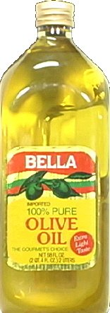 BELLA OIL OLIVE PURE 68OZ CASE OF-6 by KEHE Distributors