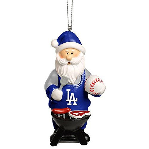 Los Angeles Dodgers Santa Grill Ornament