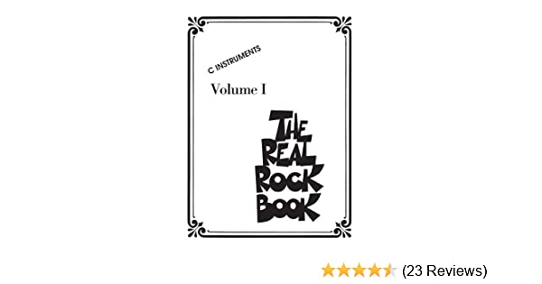 The Real Rock Book: C Instruments: 1 - Kindle edition by Hal Leonard ...