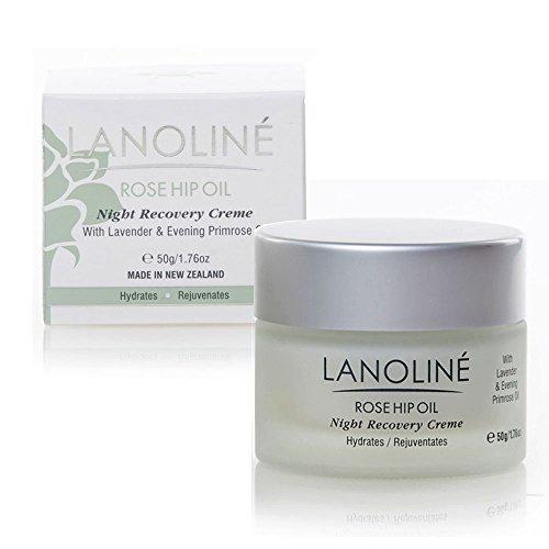 Lanoline Rosehip Oil, Lavender, and Evening Primrose Oil Night Recovery Creme