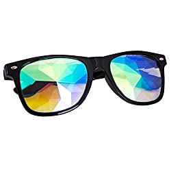 Kaleidoscope Rainbow Prism Sunglasses