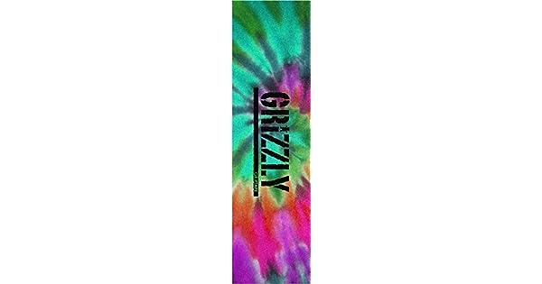 Amazon.com: Grizzly sola hoja sello Reverse Tie Dye Griptape ...
