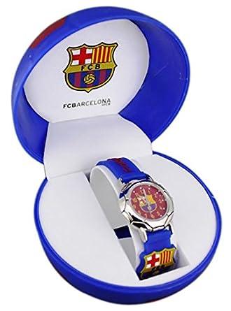 FC Barcelona – Estuche Regalo balón con Reloj niño 3D FC Barcelona ...
