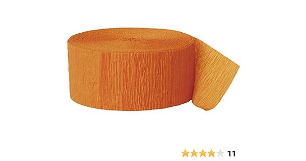 Pack De 3 Alta Calidad Papel Crepé Crepe Rollo De Papel Para Fiesta Y Decoración De La Boda Rosso Amazon Es Hogar