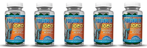 MaritzMayer Laboratories Forskolin 1020 Metabolic Support Weight Loss Formula 20 250mg 30 Capsules 5 Bottles