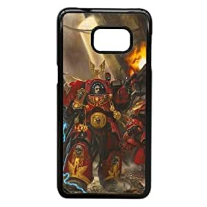 Protection Cover Iyysg Samsung Galaxy S6 Edge Plus Cell Phone Case Black warhammer game Protection Cover