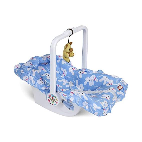 Dash/ FunRide Carry Cot for Baby Boys and Baby Girls (Blue, Pink, Green)