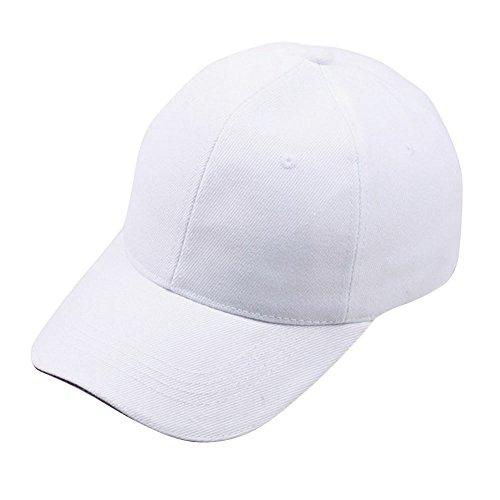 para Hombre Gorra béisbol ESAILQ de Blanco 1t0YZxwq