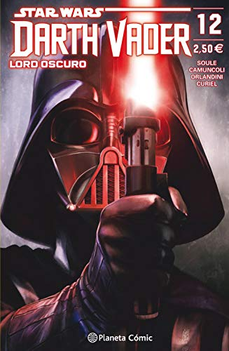 Star Wars Darth Vader Lord Oscuro nº 12 (Star Wars: Cómics Grapa Marvel) por Charles Soule,Giuseppe Camuncoli