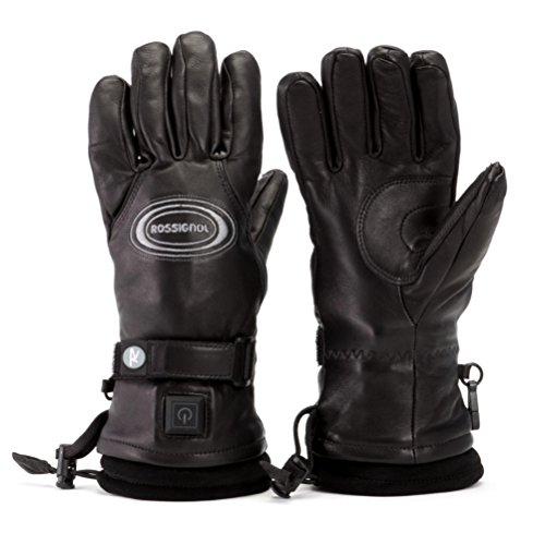 Rossignol Winters Heat Leather Mens Heated Gloves and Mit...