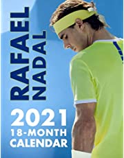 Rafael Nadal: SPORT Calendar – 2021.2022 – 17 x 11 Big Size High Quality – Resolution Images