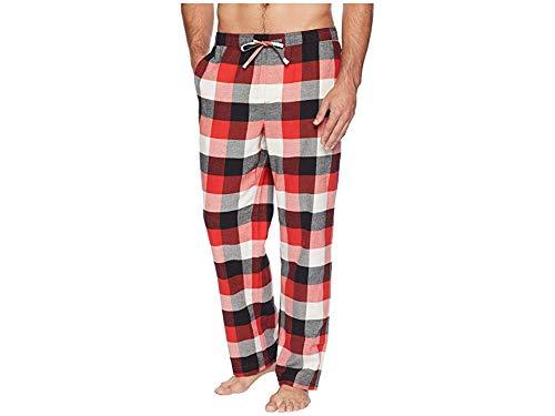(Life is Good Classic Sleep Pant Red Plaid, Americana Red, Medium)