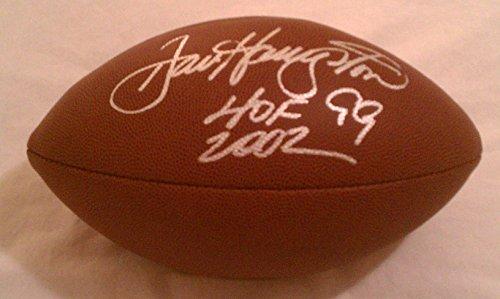 Dan Hampton Autographed NFL Replicia Football