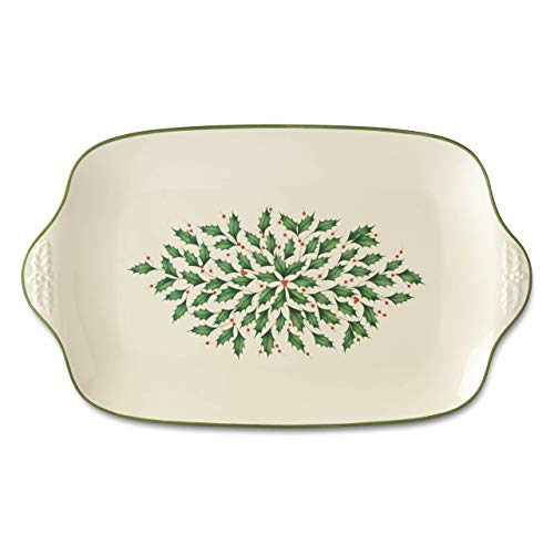 Lenox 886163 Holiday Oversized Platter (Platters Christmas Sale)