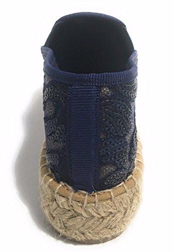 Mujer Espadrilles Kanna Marino Path Azul q4tw0xt