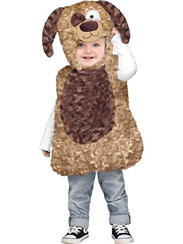 2t Puppy Costume (Fun World Cuddly Puppy Toddler Costume Toddler)