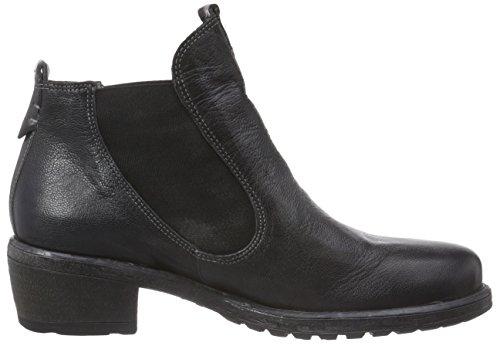 Think! LIAB Chelsea Boot - botines chelsea de cuero mujer negro - negro (SZ/KOMBI 09)