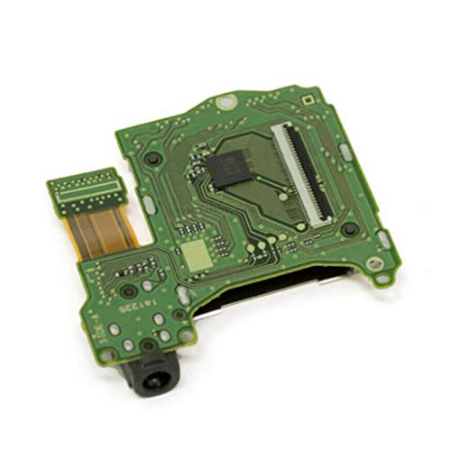 Sliversorrtery Professional Game Cartridge Card Slot Replacement Reader Console Headphones Jack Port Socket for Nintendo Switch Repair Parts Accessories
