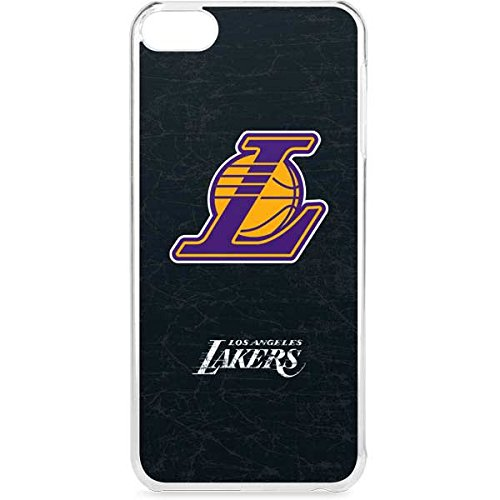 Skinit NBA Los Angeles Lakers iPod Touch 6th Gen LeNu Case - Los Angeles Lakers Secondary Logo Design - Premium Vinyl Decal Phone Cover by Skinit