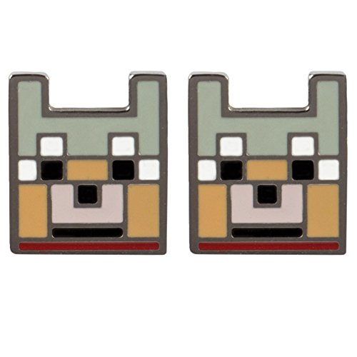 Price comparison product image Minecraft Wolf Stud Earrings