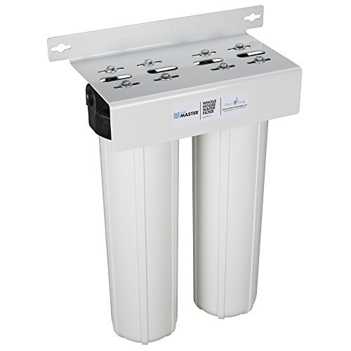 Home Master HMF2SDGC Whole House 2-Stage Water Filter with Fine Sediment and Carbon (Whole House Water Treatment)