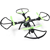 JJRC H27WH RC Wifi FPV Quadcopter with Altitude Hold 2.0MP HD Camera 2.4GHz 4CH 6-Axis Gyro RC Quadcopter with Headless Mode Function RTF, Color Black