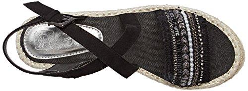 Tom Tailor 2796605 - Tira de tobillo Mujer Noir (Black)
