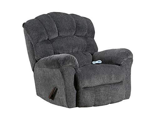 - Simmons Upholstery U561-191 Allegro Pewter H& M Rocker Recliner,