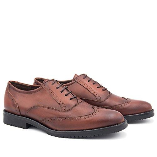 Blucher de Zapatos CASTELLANISIMOS CUERO en Piel Hombre Cuero wgptF