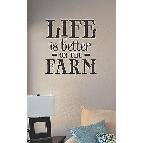 I Love You Quotes: Farm Wall Art: Amazon.com
