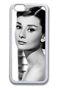 TPU White Color Soft Case For iPhone 6 And Many Design iPhone Case Latest style Case Suit iPhone 6 4.7 Inch Very Nice And Ultra-thin Case Easy To Operate Audrey Hepburn 15